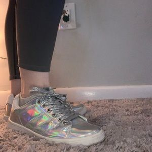 Metallic Fashion Sneaker